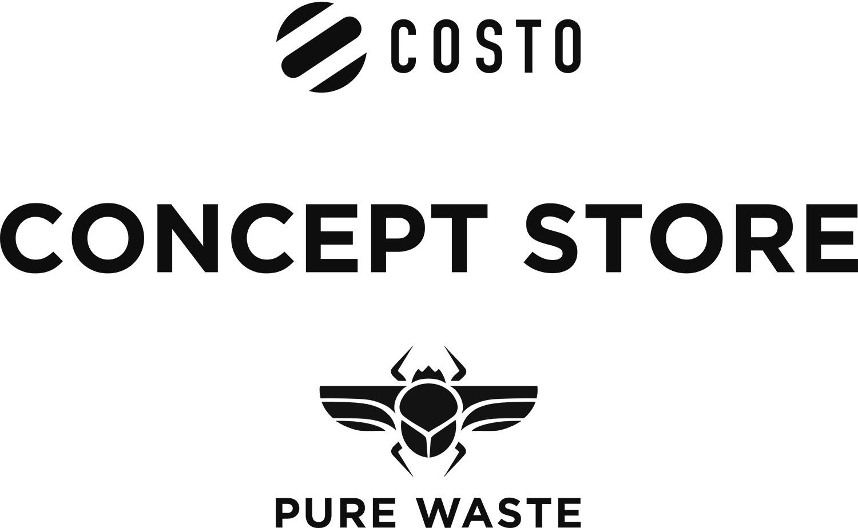 COSTO X PURE WASTE CONCEPT STORE - Yrjönkatu 34Costo x Pure Waste Concept Store tarjoaa kahden suomalaisen brändin ekologisesti kestäviä ja vastuullisesti tuotettuja vaatteita ja asusteita. Costo on asustebrändi, jonka tuotteet ovat tehty kestämään. Laatu nojaa kestäviin ja ekologisiin materiaalivalintoihin. Ajattomissa tuotteissa on usein jokin persoonallinen idea – kuten päähineiden vaihdettavat tupsut. Pure Waste valmistaa 100% kierrätetyistä materiaaleista, ekologisia ja vastuullisesti tuotettuja vaatteita. Kierrättämällä tekstiiliteollisuuden leikkuujätettä uuden puuvillan viljelyn sijaan, tuotteet säästävät huomattavan määrän vettä.www.costo.fi www.purewaste.org