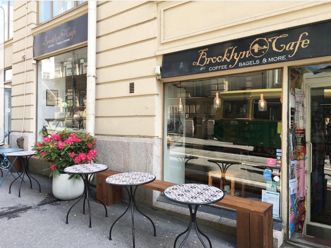 BROOKLYN CAFE - Fredrikinkatu 19A taste of New York with handmade bagels, cupcakes and dark roast coffee.www.brooklyncafeandbakery.com