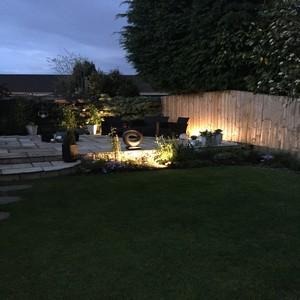 Garden Lighting Edinburgh