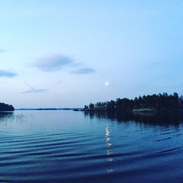 White nights ❤️ #sunset #sunrise #mood #lake #waves #nature #finland #suomiretki #relaxing #soundshade