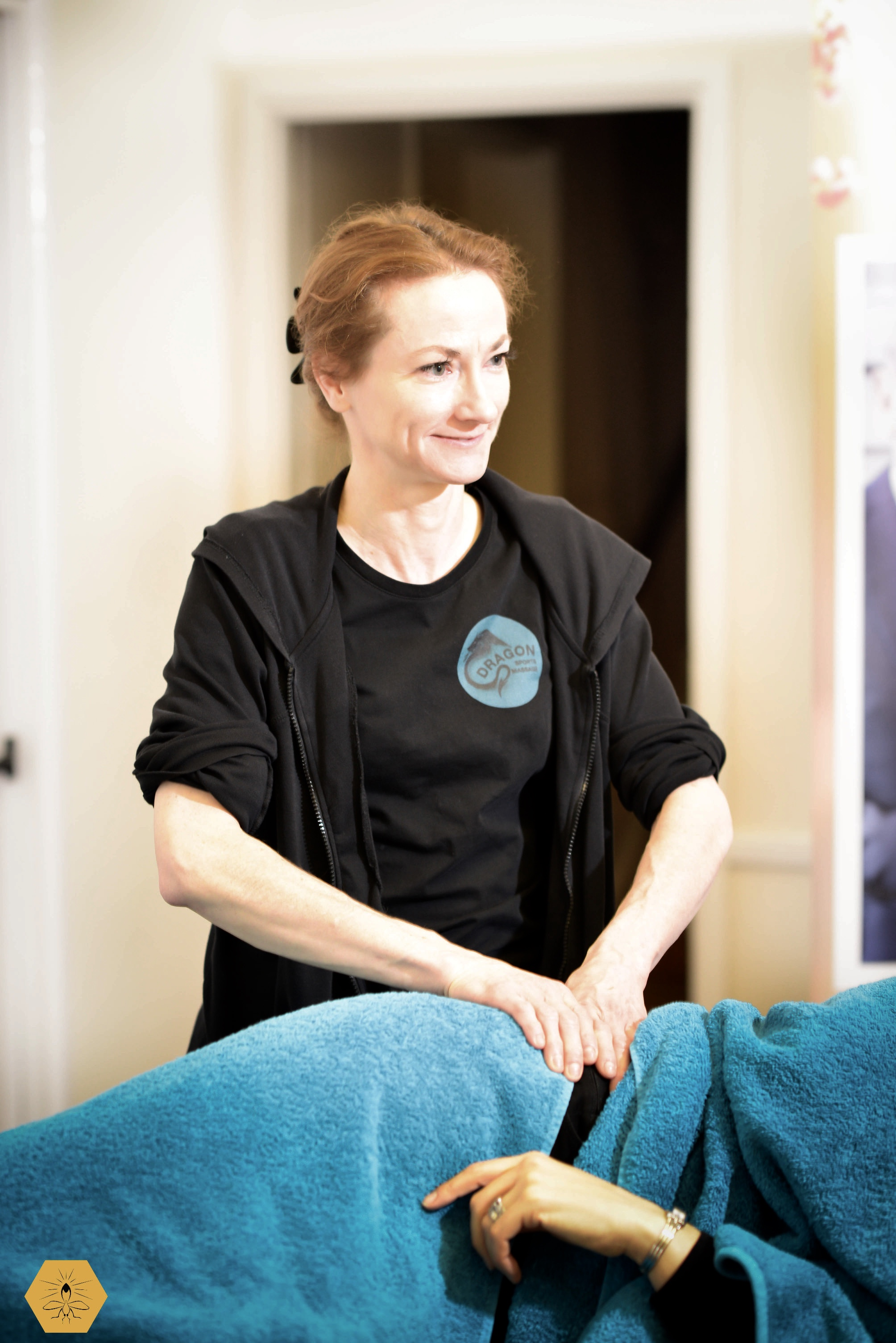 Kelley is pleased to bring her skills in sports and remedial massage to you in your home. When you are in pain, why travel when she will treat you in the comfort of your own home? (within a 35-mile radius of Stratford-upon-Avon). (Photograph by Jay Deeley)