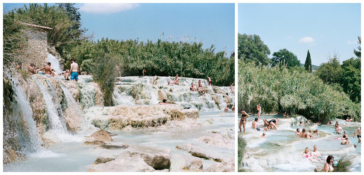 Terme Di Saturina - Tuscany, Italy - Thermal Hot Springs - Tessa Kit Zawadzki Photography