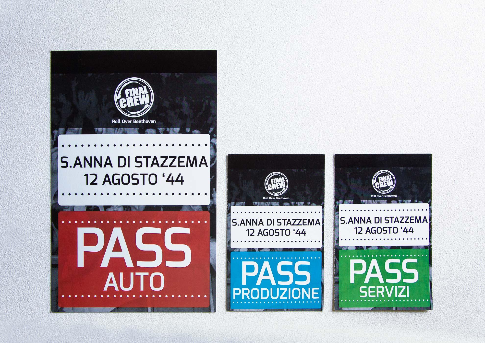 Pass S.Anna di Stazzema - Spettacolo Paolini/Salvatori