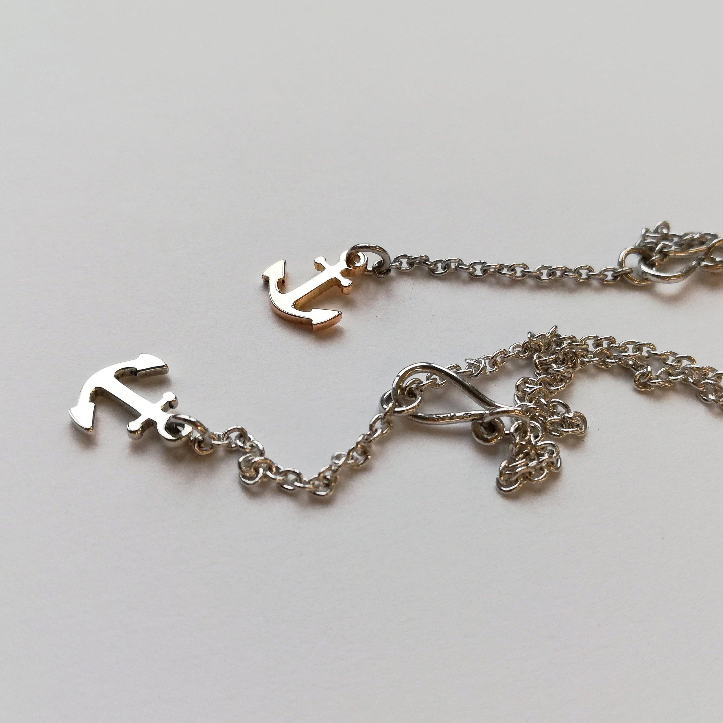 Halsschmuck No.6 - Anker Rotgold 750 / Fr. 270.00Anker Silber 925 / Fr. 150.00