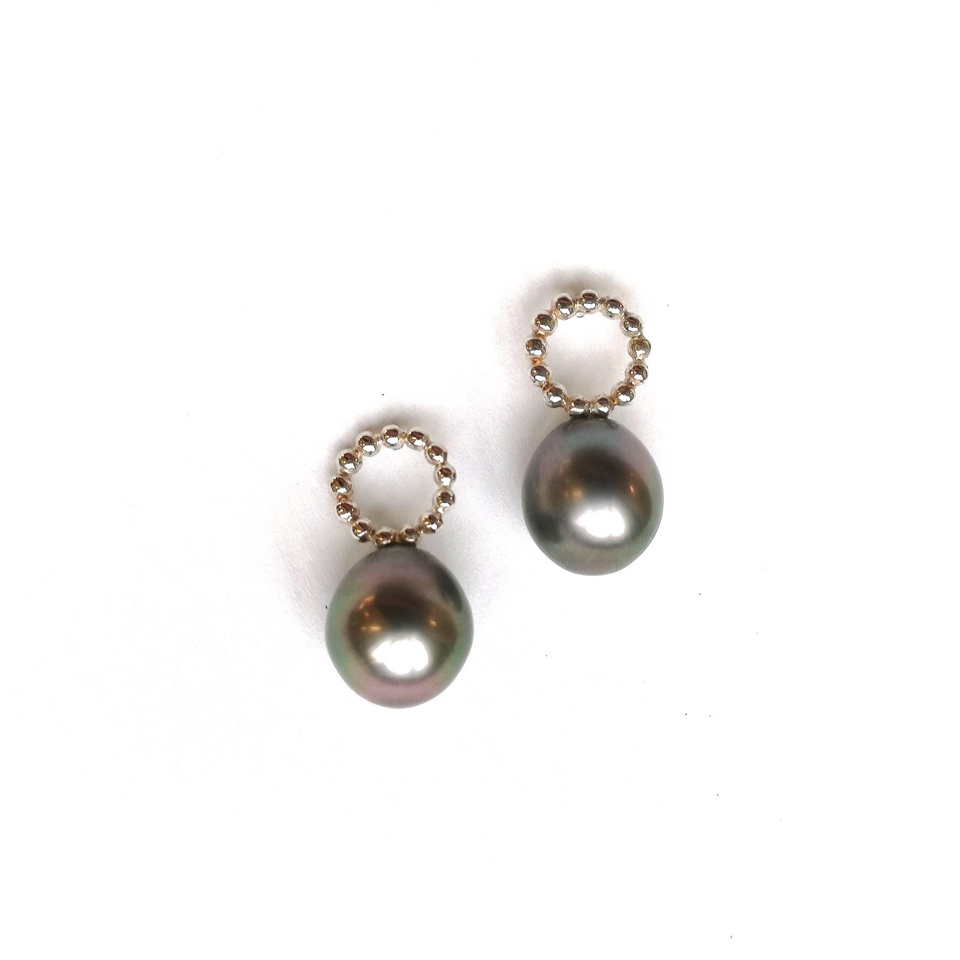 Ohrschmuck No.3 - Tahitiperlen / Silber 925 / Fr. 265.00auch mit anderen Perlen erhältlich, Preise variierend