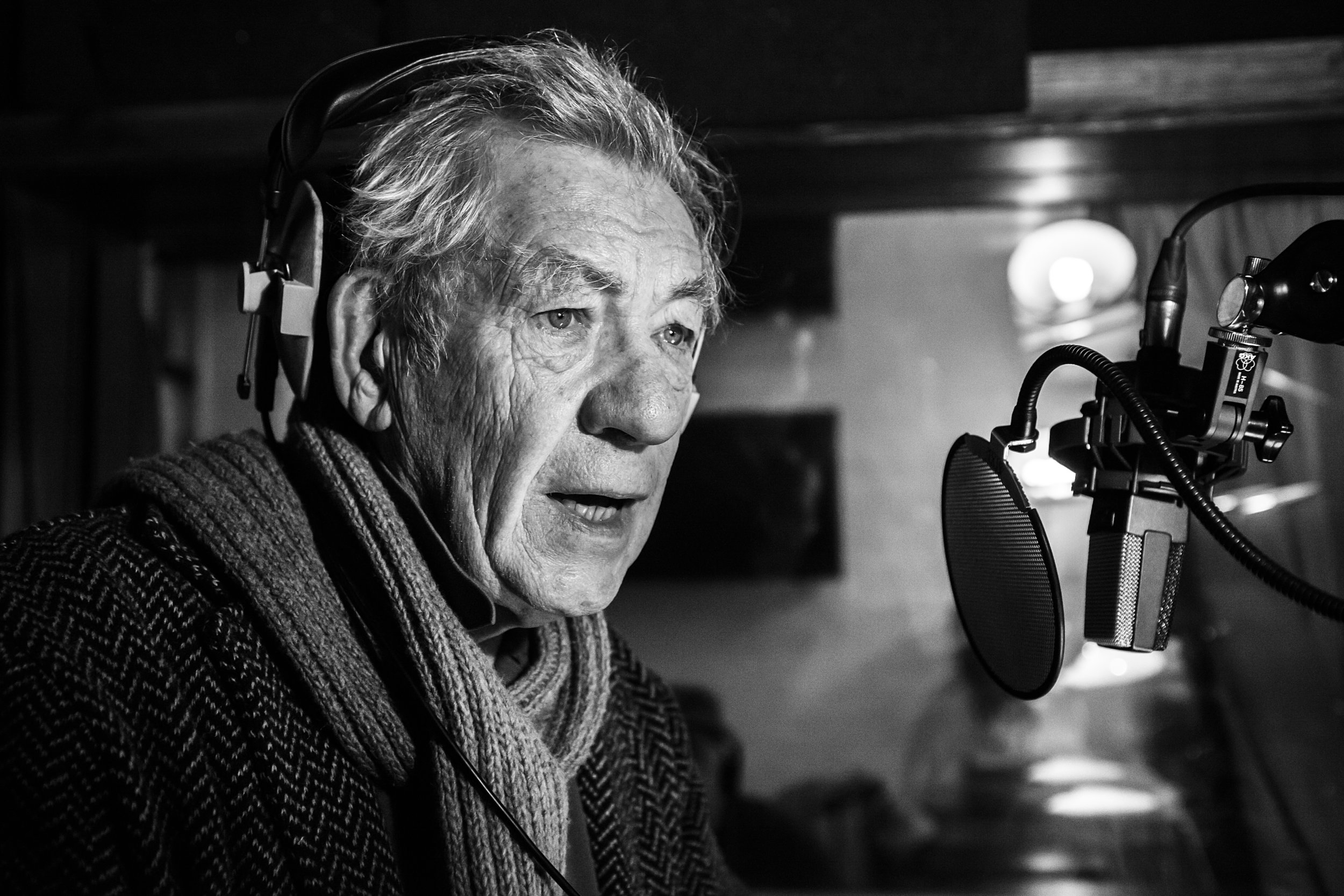 Sir Ian mckellen for Sport relief