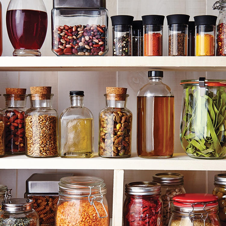 Pantry Makeover -