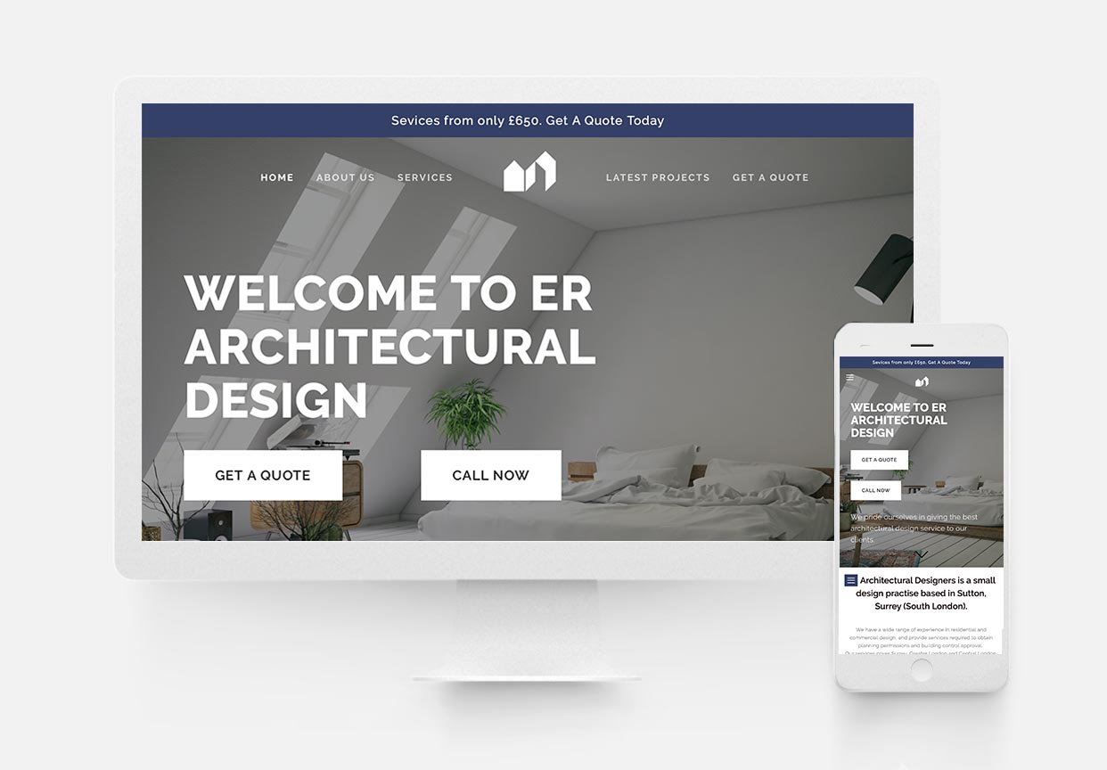 Er architectural design - Architectural Website Design