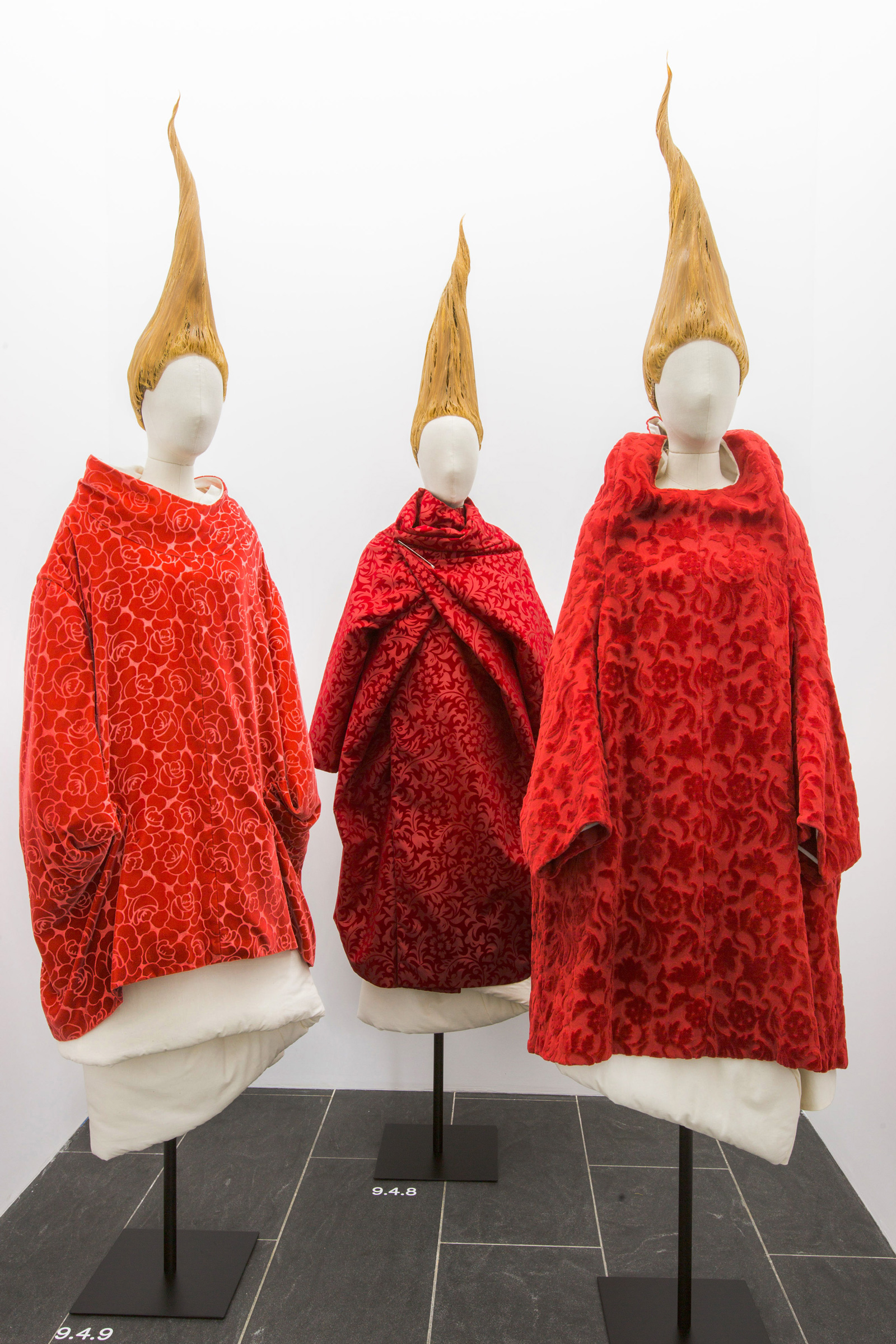 """The Metropolitan Museum of Art The """"Clothes/Not Clothes: War/Peace"""" section of """"Art of the In-Between,"""" 2017"""