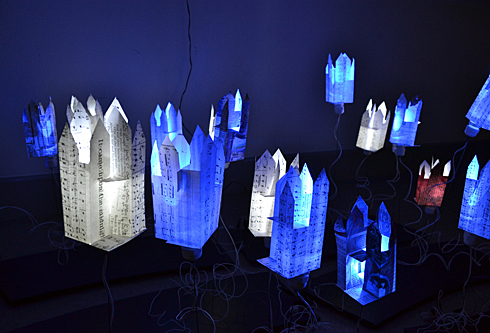 magic and lightness, installation