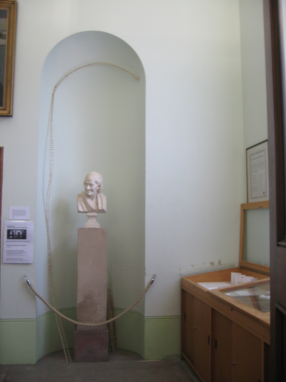 a few words, Vestibule room