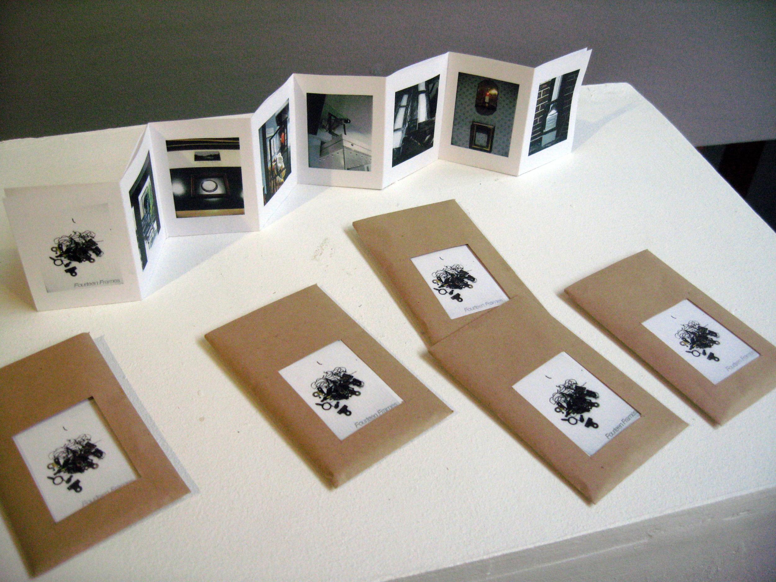 hurry slowly, fourteen frames booklet