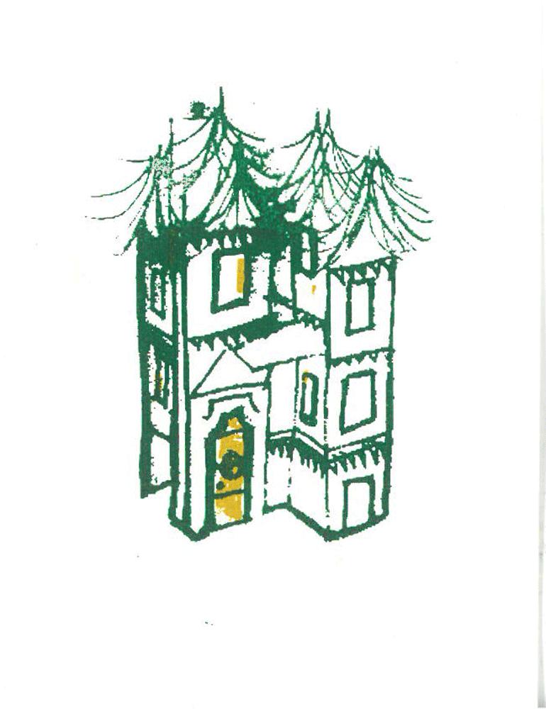 tree top house, fir