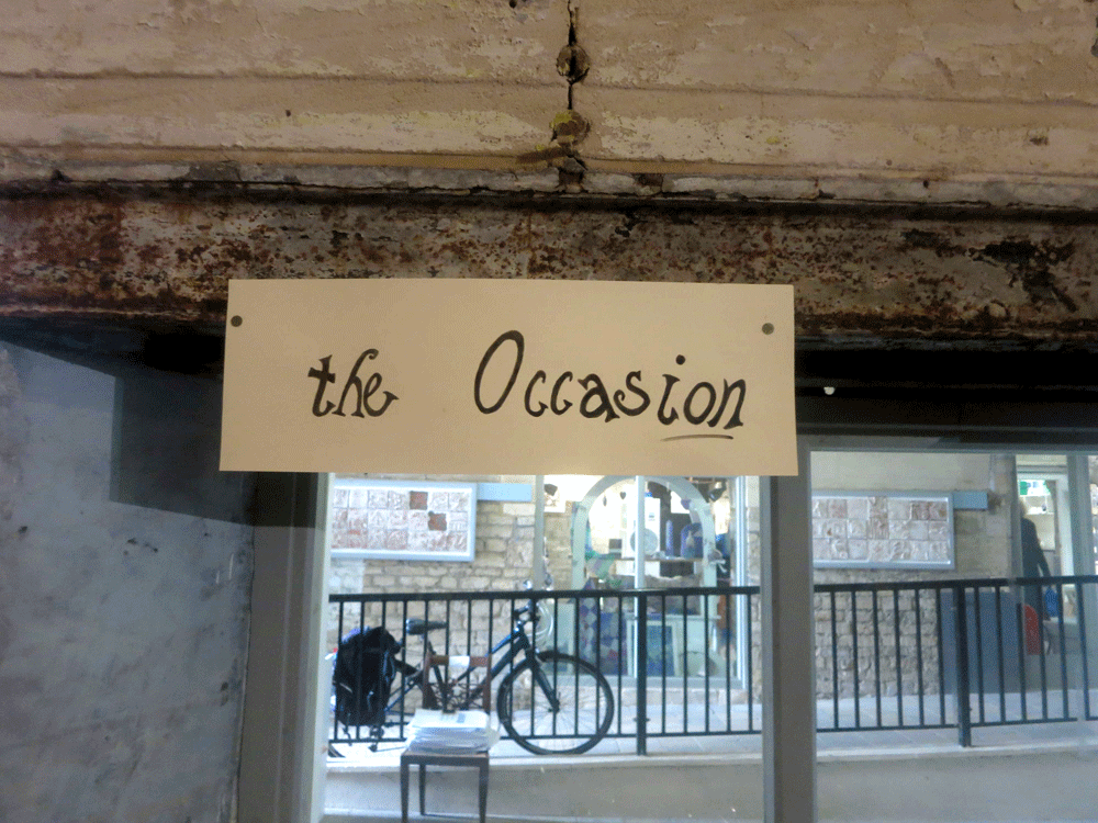 the occasion, sign,  exhibition