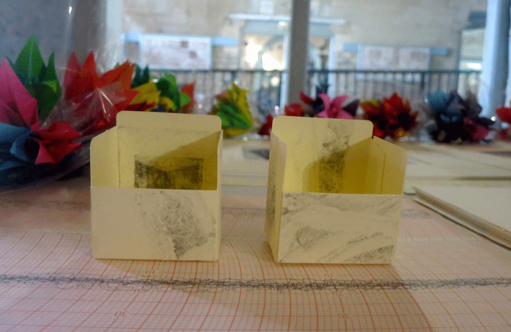 the occasion, bouquet in slide boxes