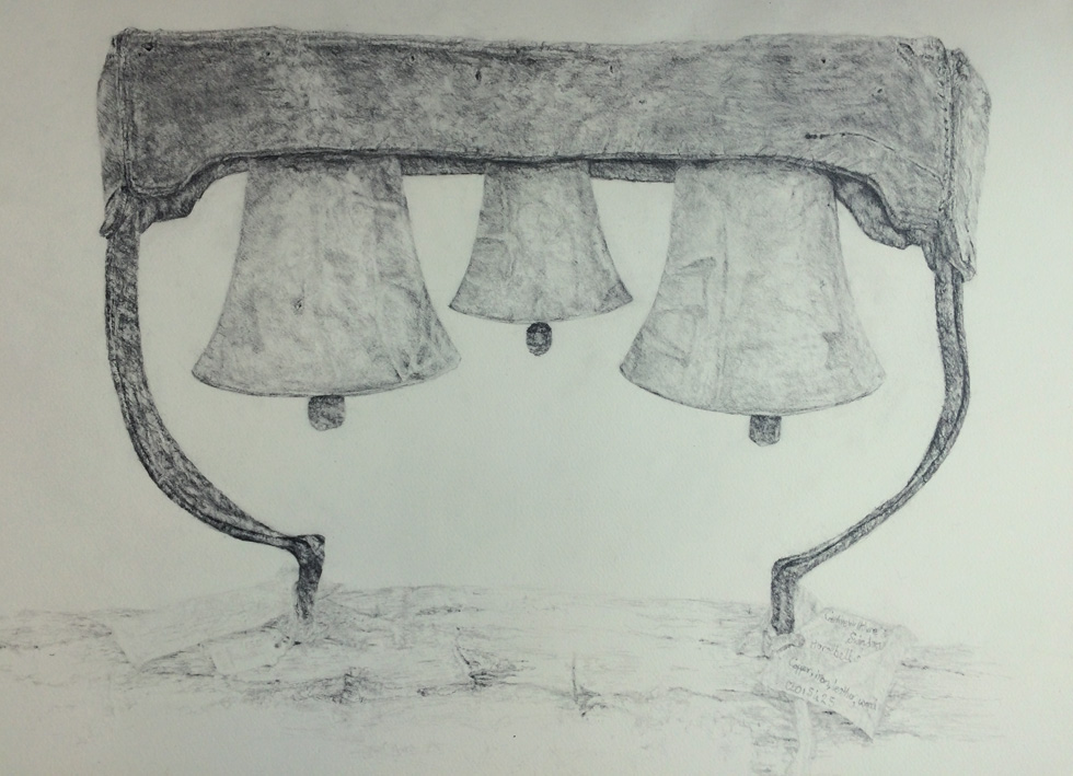 ARTeology project/exhibition, horsebells