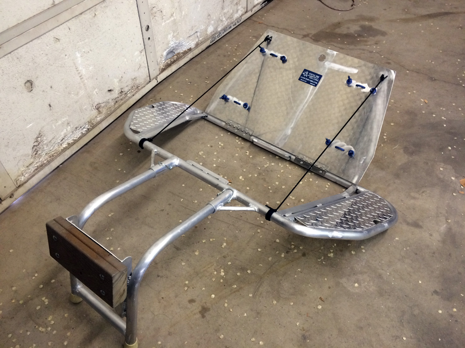 transom for 12' hyside with a 4hp motor