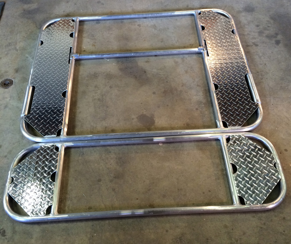 two part raft frame