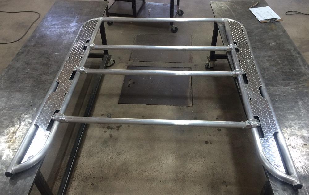 sport boat frame