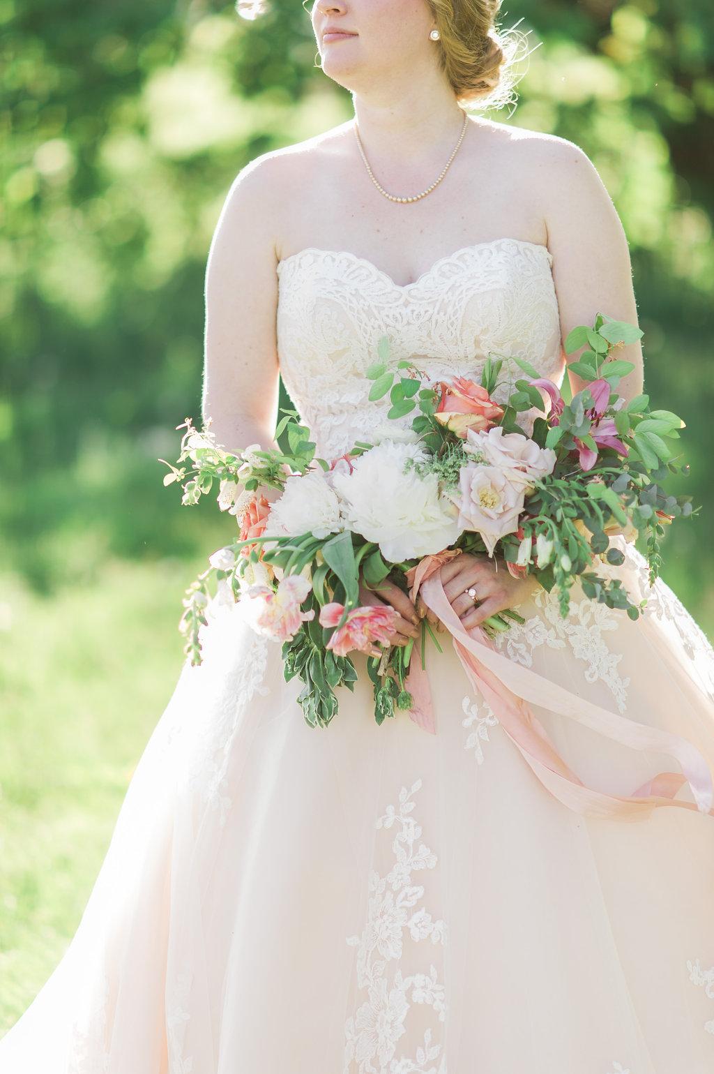 Peony & Foxglove Bouquet |  Kelly Sweet Photography | Instagram: @kellysweetphoto