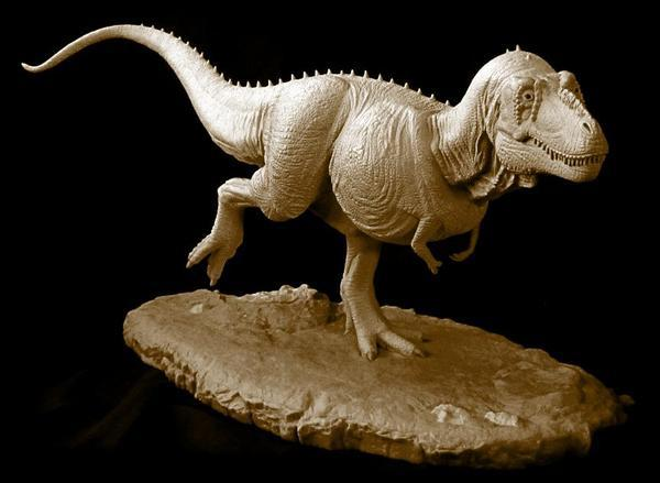 "My 1/20th scale model of the ""Sue"" specimen of  Tyrannosaurus rex ."