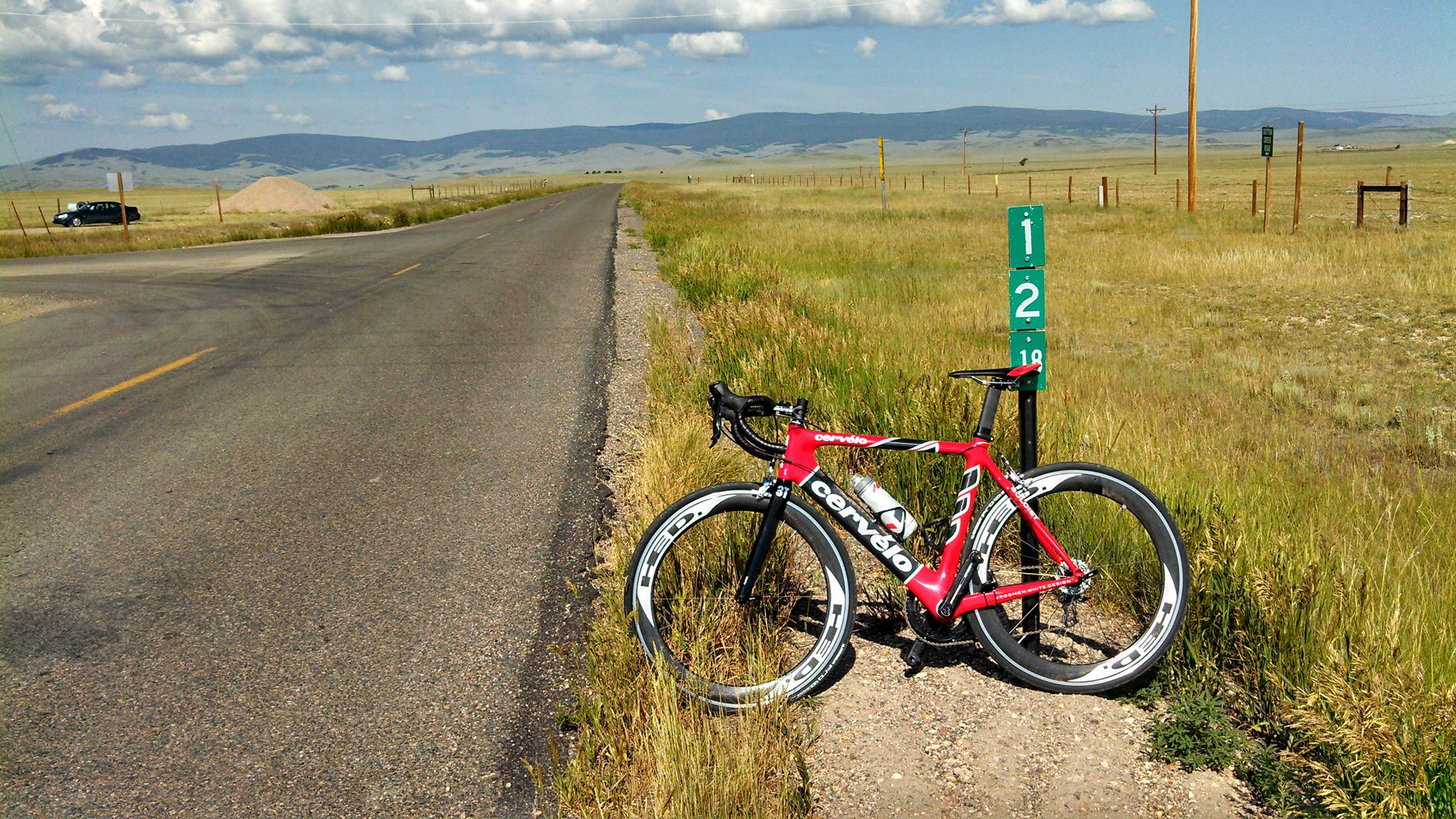 My trusty friend for many long, desolate miles of Wyoming road.