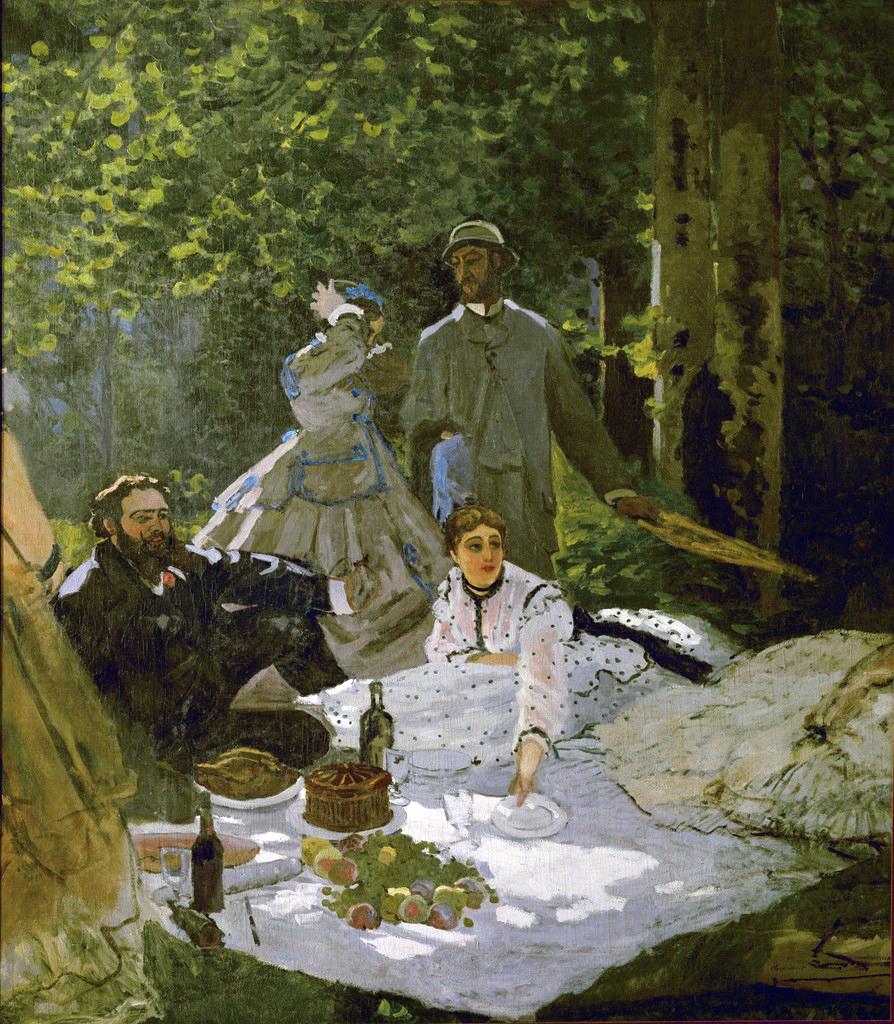 Déjeuner sur l'herbe - PIQUE-NIQUE DANS LE PARC F. MITTERAND
