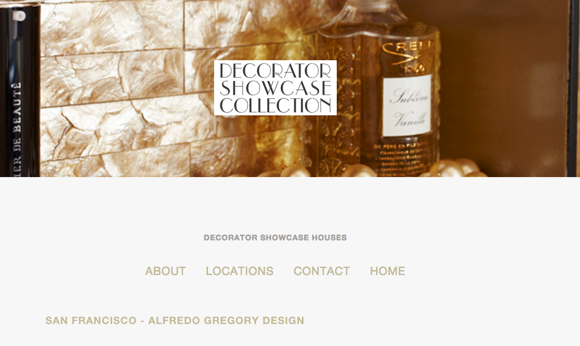 Alfredo Gregory Decorator Showcase