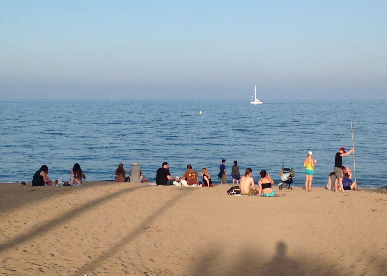 Barceloneta, 10.6.2014