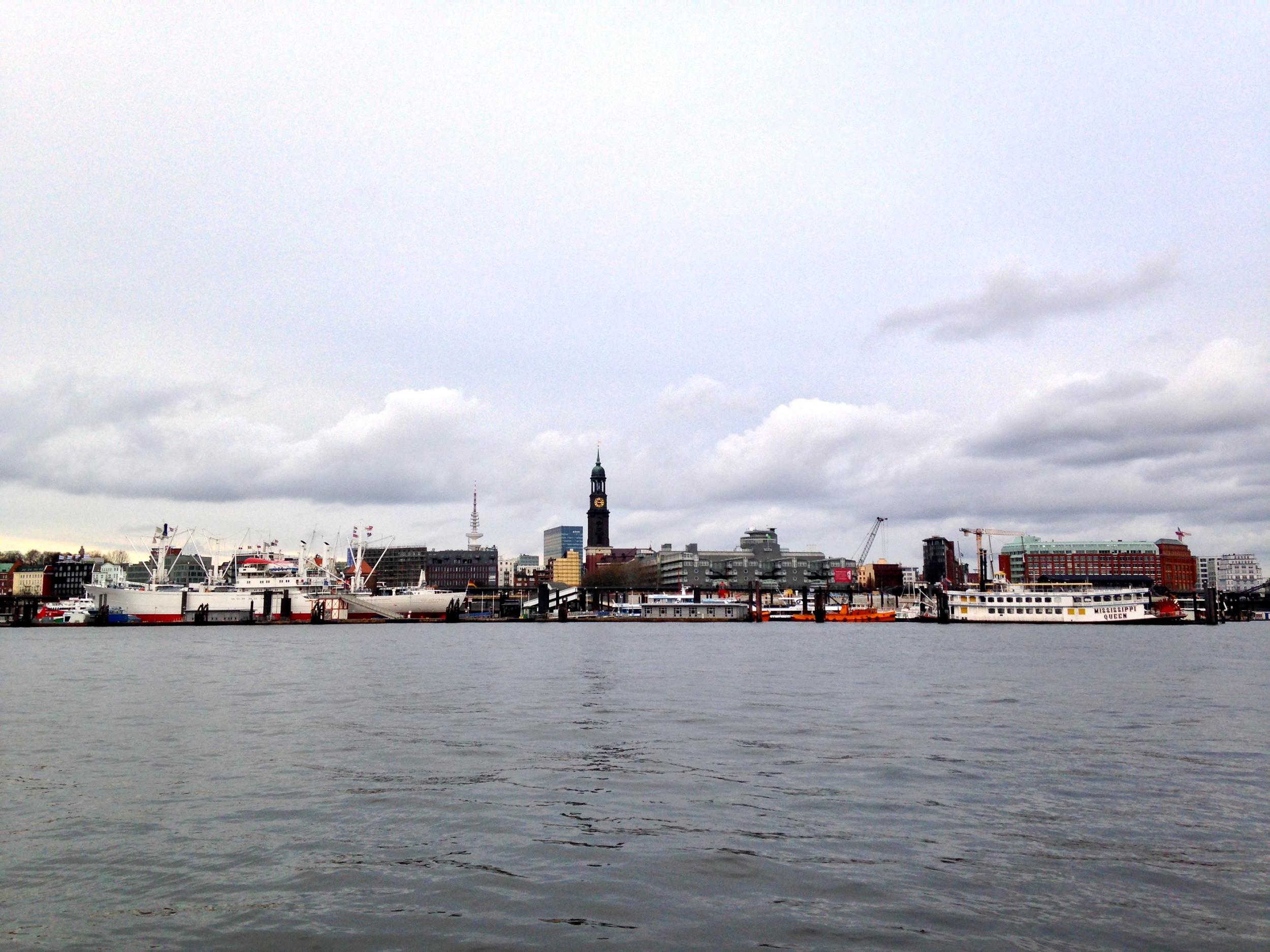 Hamburger Hafen, 25.12.2013