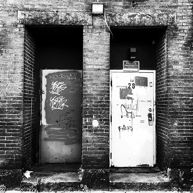 Doors is Worcester. Winter street. #doorsofworcester #worcesterma #doors #doorsofinstagram #blackandwhitephotography