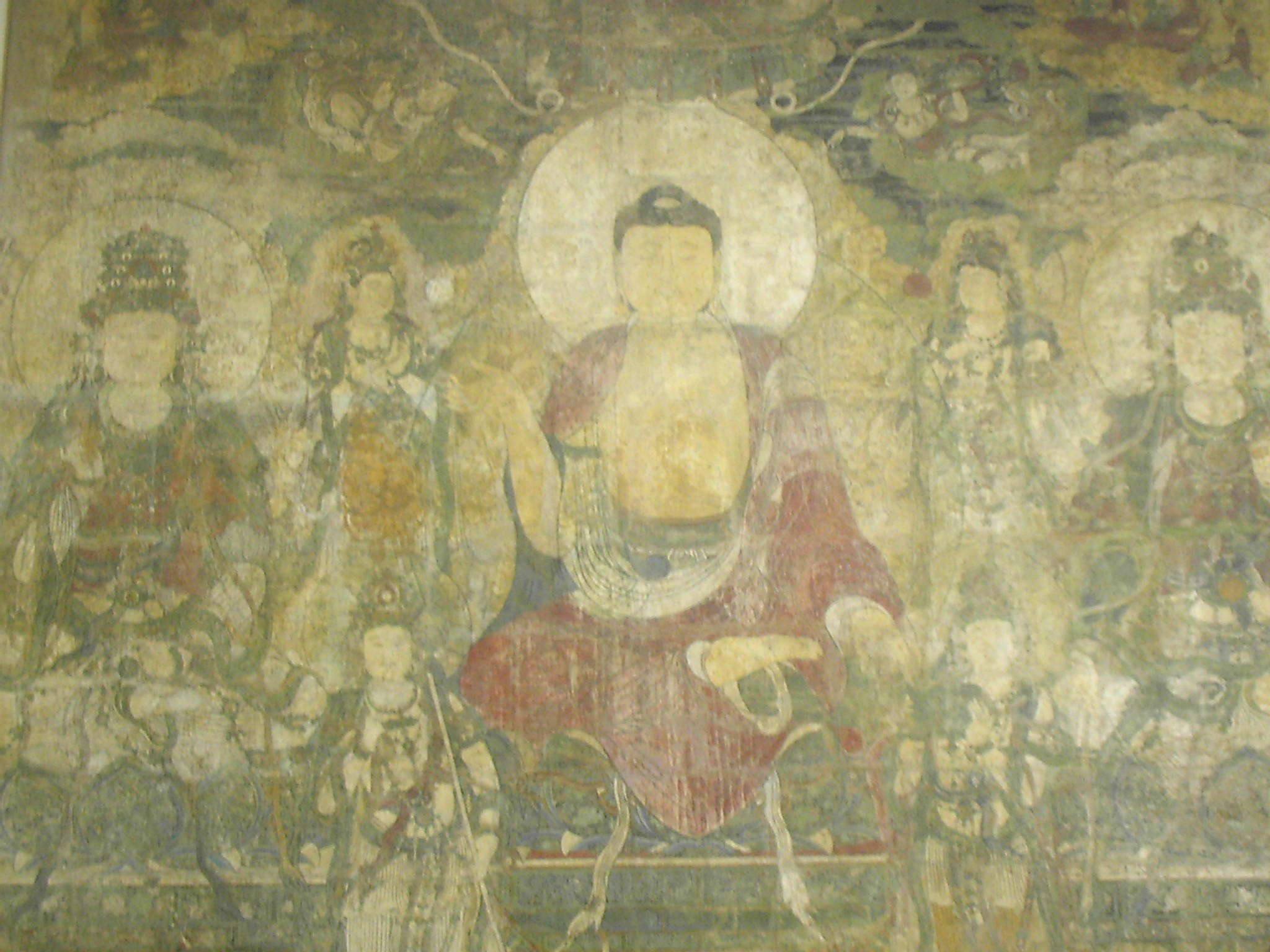 """ Pure Land of Bhaisajyaguru, Yuan Dynasty "" is  public domain ."