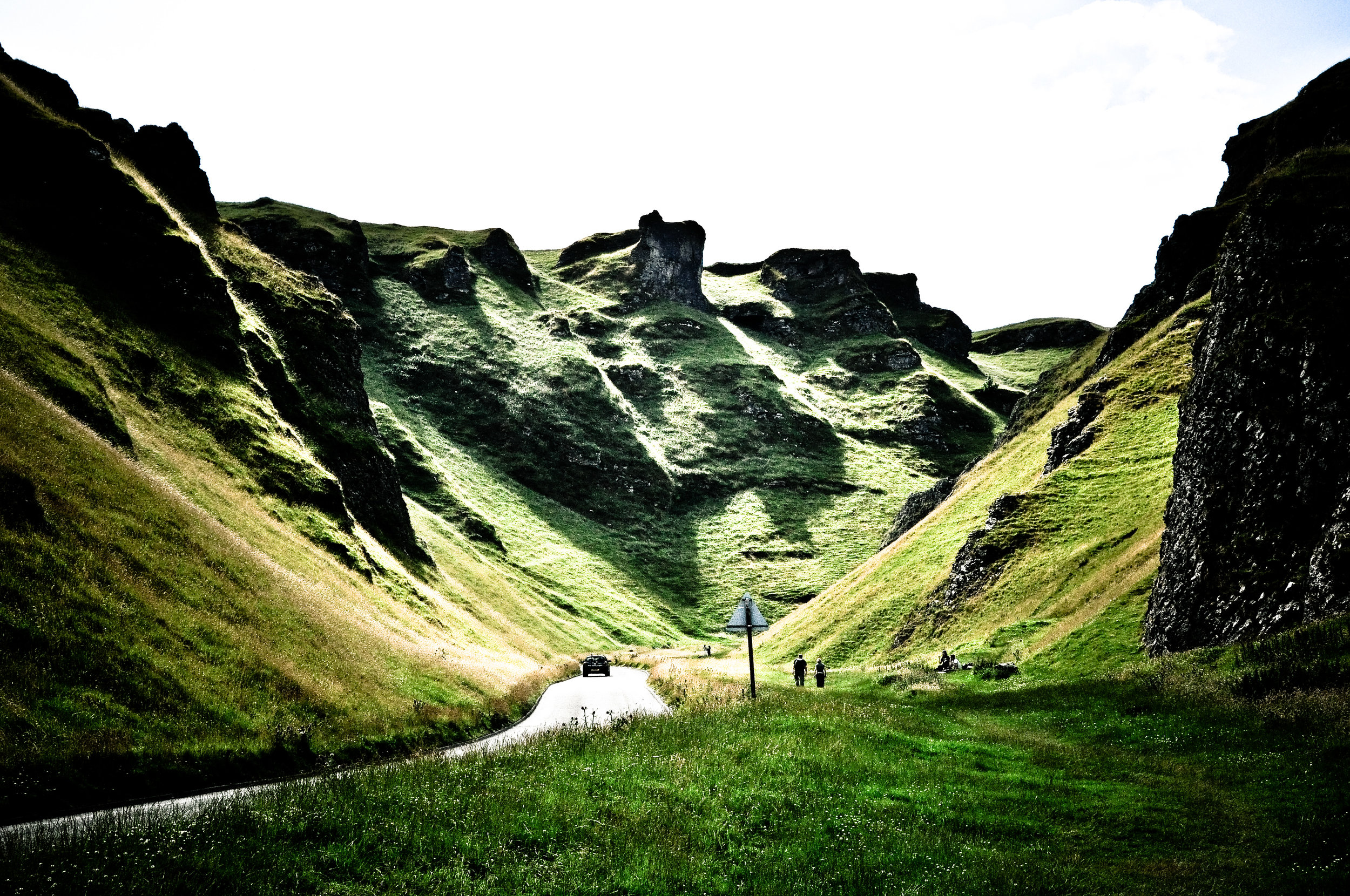 """ Winnats Pass "" by  John Clift  is licensed under  CC BY 2.0 ."