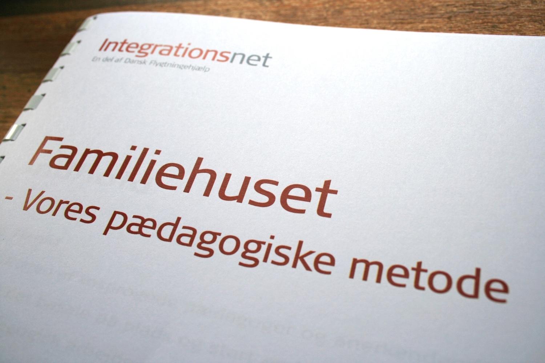 Metodehæfte, Integrationsnet - en del af Dansk Flygtningehjælp