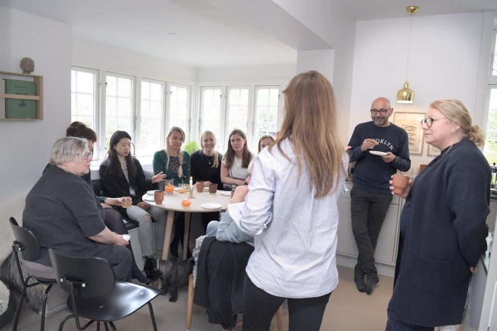 Utzon Center fik lokale til at diskutere hjem og arkitektur i Skagerak-familiens hjem.