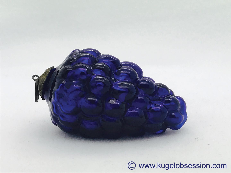 "FOR SALE 3"" cobalt blue conical grape (X-3011)"