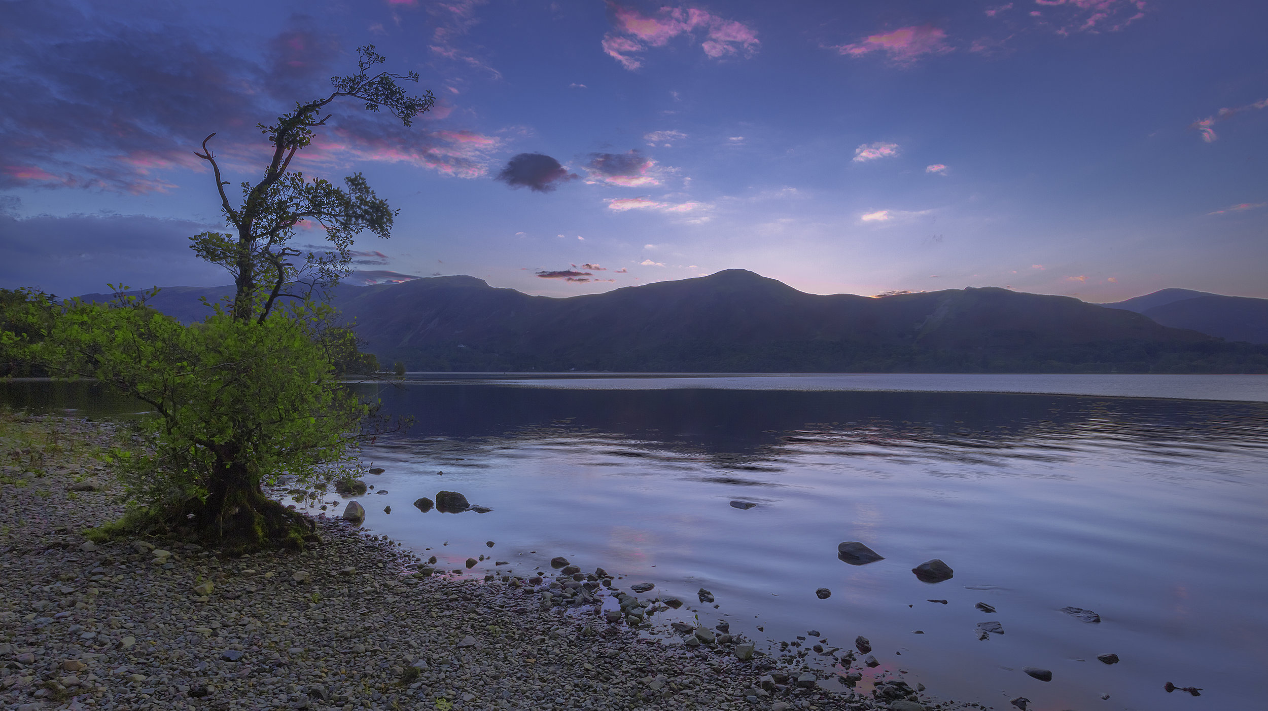 The Lakes - Derwent Water Sunset Sky.jpg