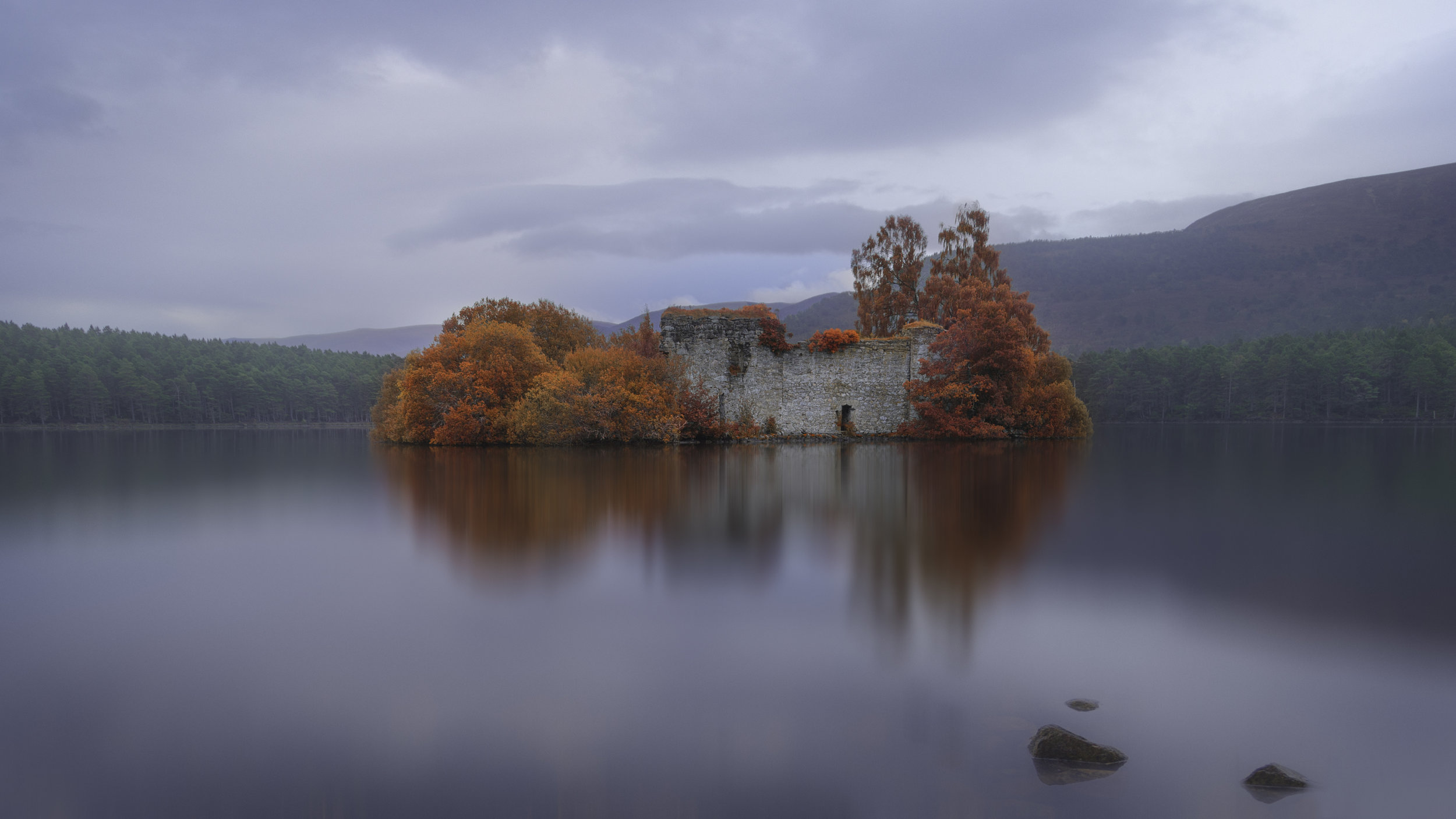The Castle Ruins - Loch An Eilein 1.jpg
