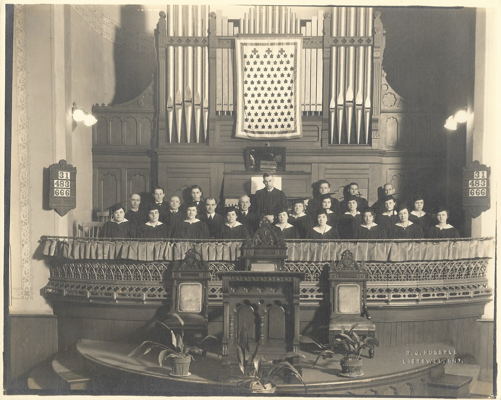 Knox Choir - 1935