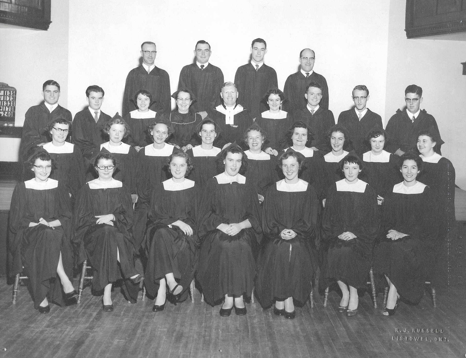 Knox Choir 1954