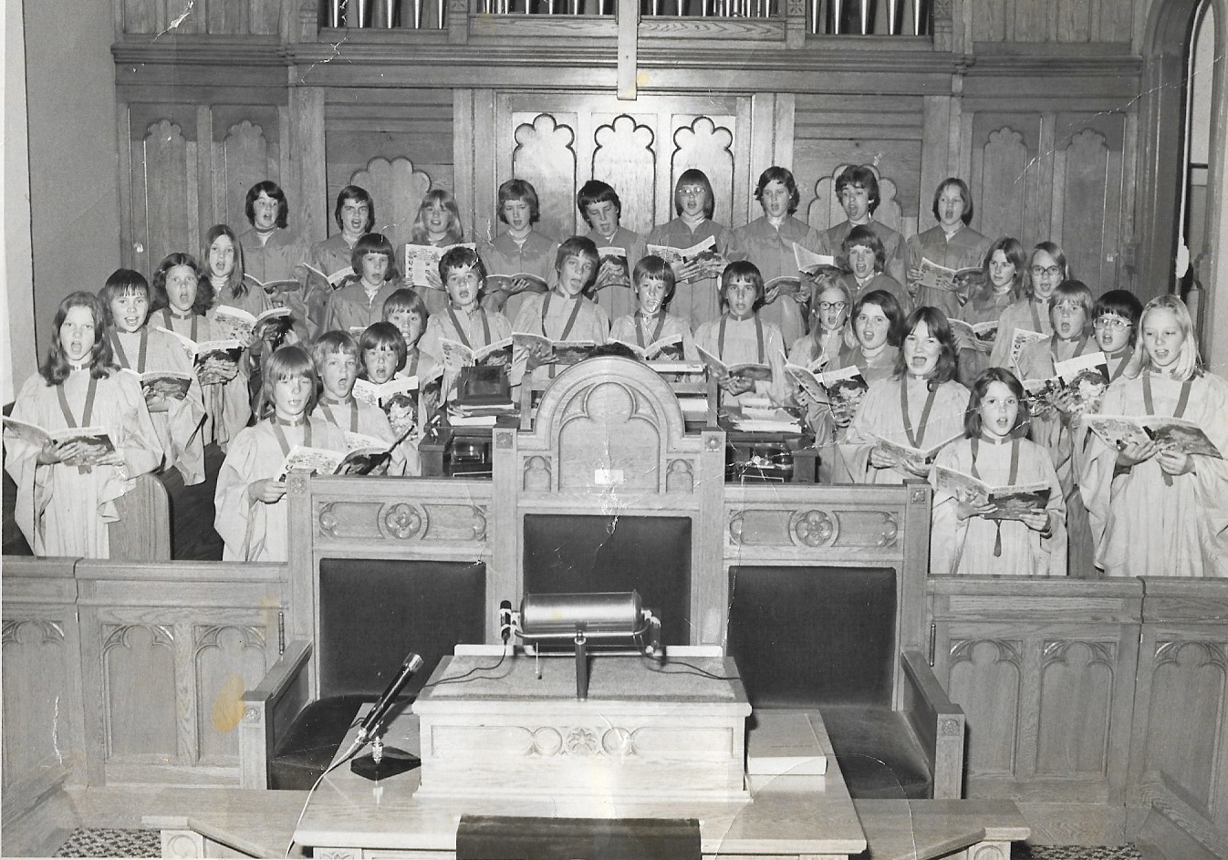 Intermediate Choir 1977