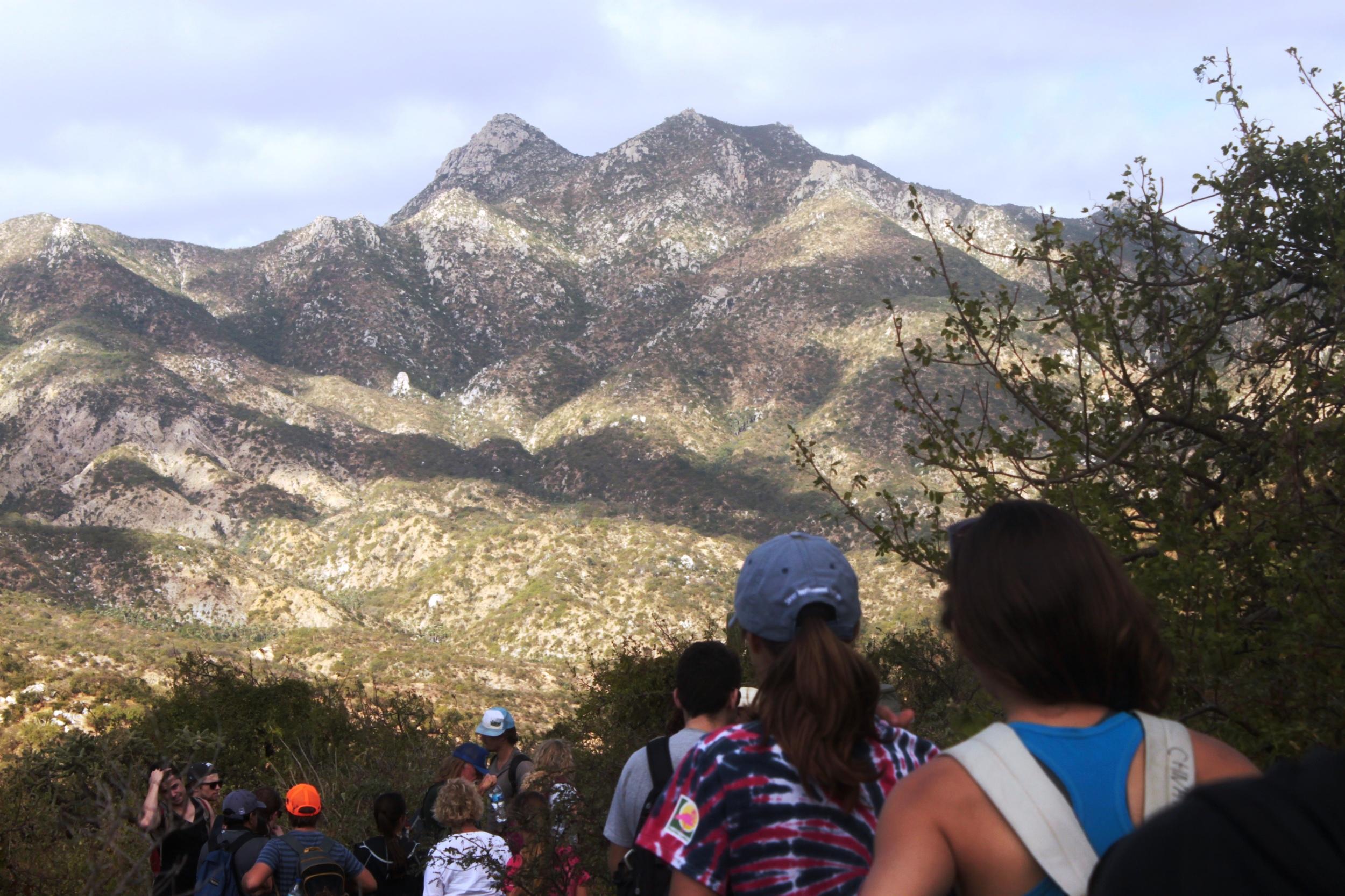 Caminata anual en Rancho Cacachilas.