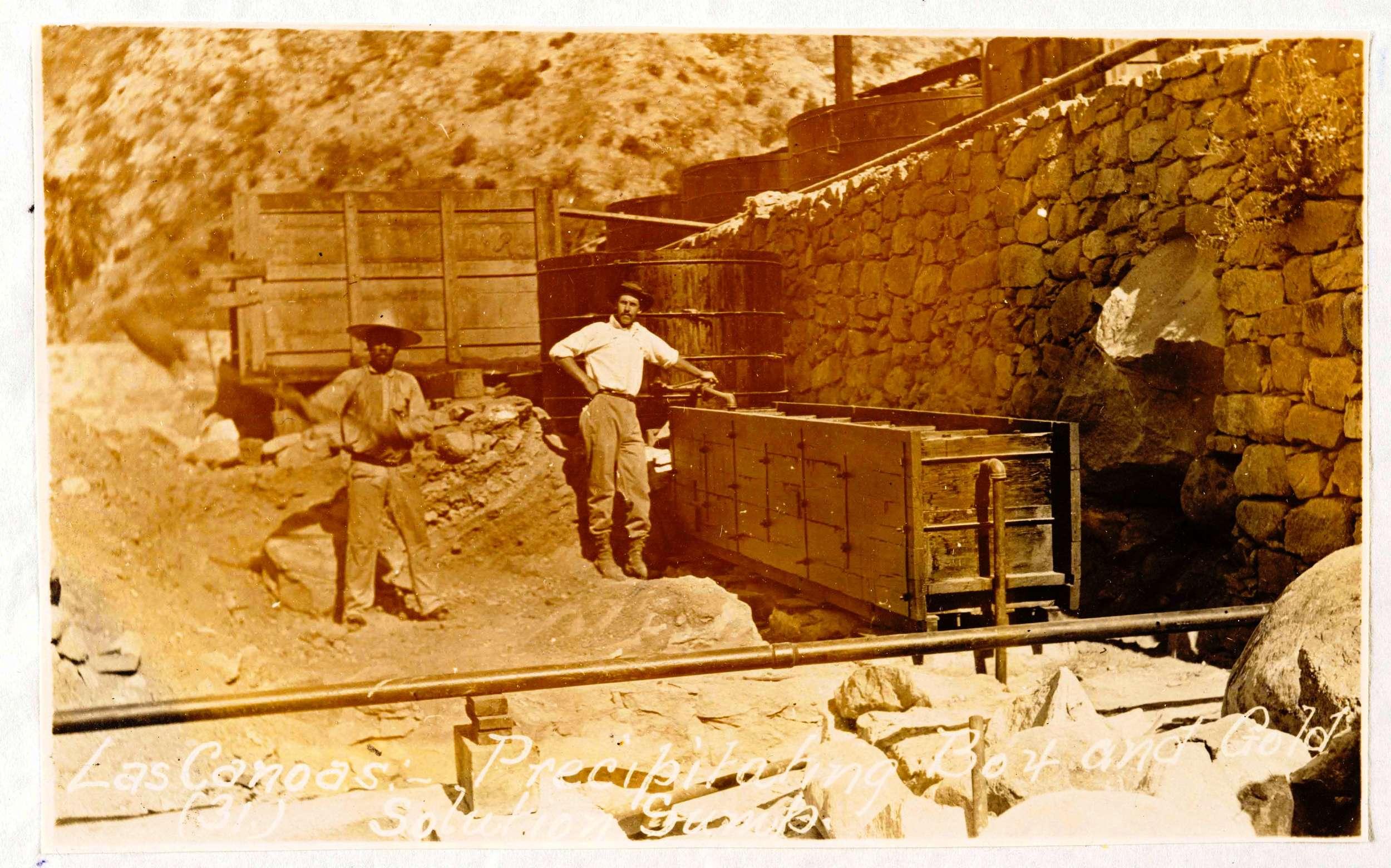 Sierra Cacachilas miners more than a century ago. *
