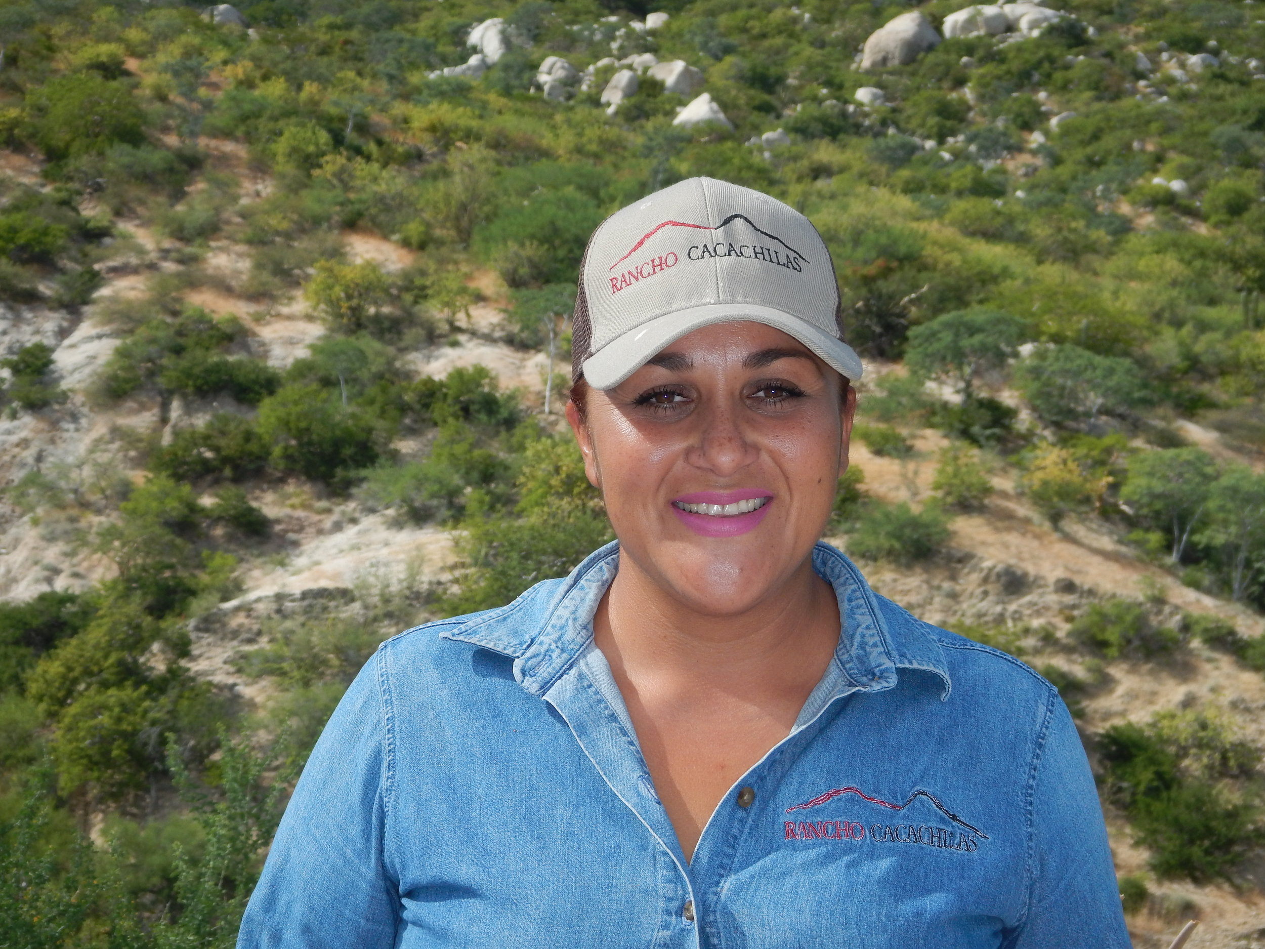 Yessenia Cota Lucero - Hospitality Team Member   Part of the local community of El Sargento, Member of the hospitality team who takes care of the accommodations arrangements and the kitchen duty. Charismatic and willing to help.