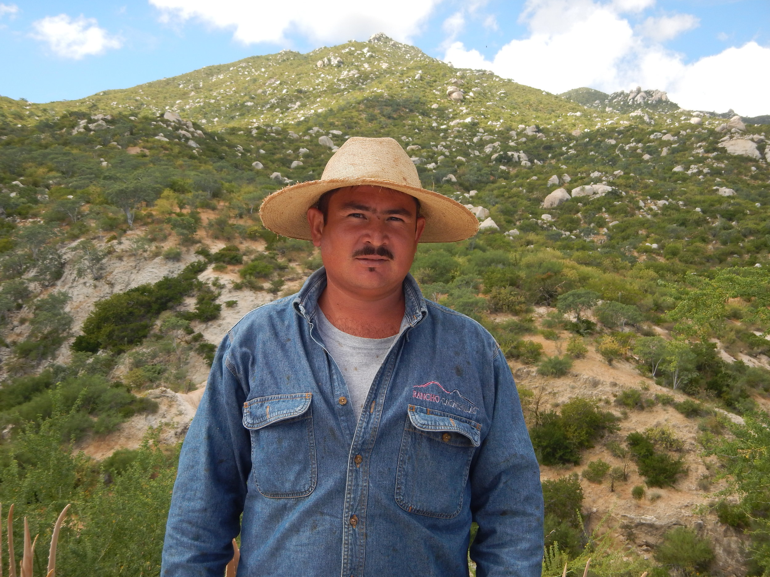 Jose Antonio Geraldo Geraldo (Toño)   Toño is the vaquero in charge of the electric fences in the grazing program. These fences are a very useful tool to have a more direct impact of tilling and fertilizing that we want the cattle to have on the land.