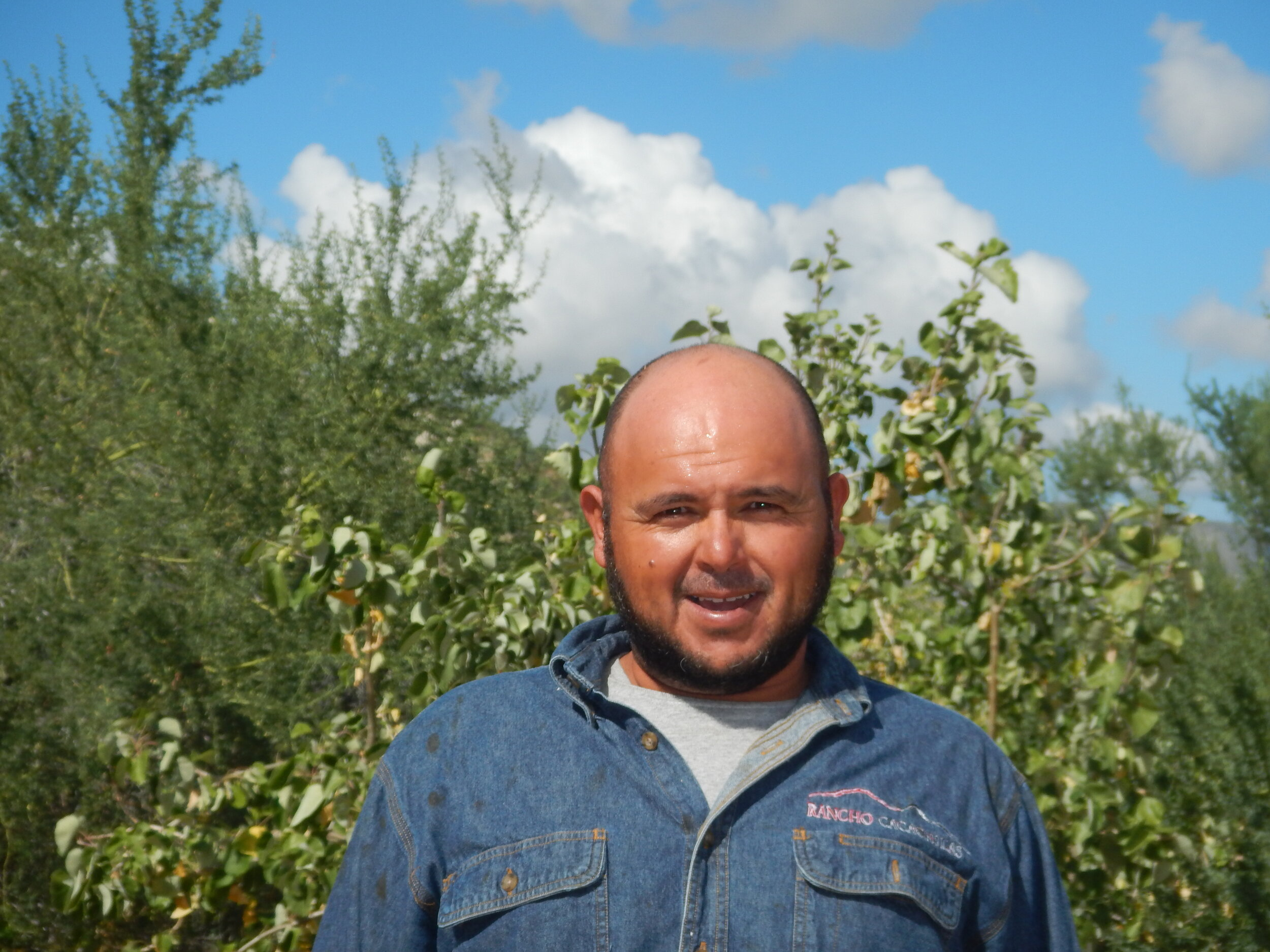 Francisco Leon   A vital member of the exploration team. He also works at the Ranch as a trail builder. He started his trail building path starting with the iconic Santa Rosa Trail.