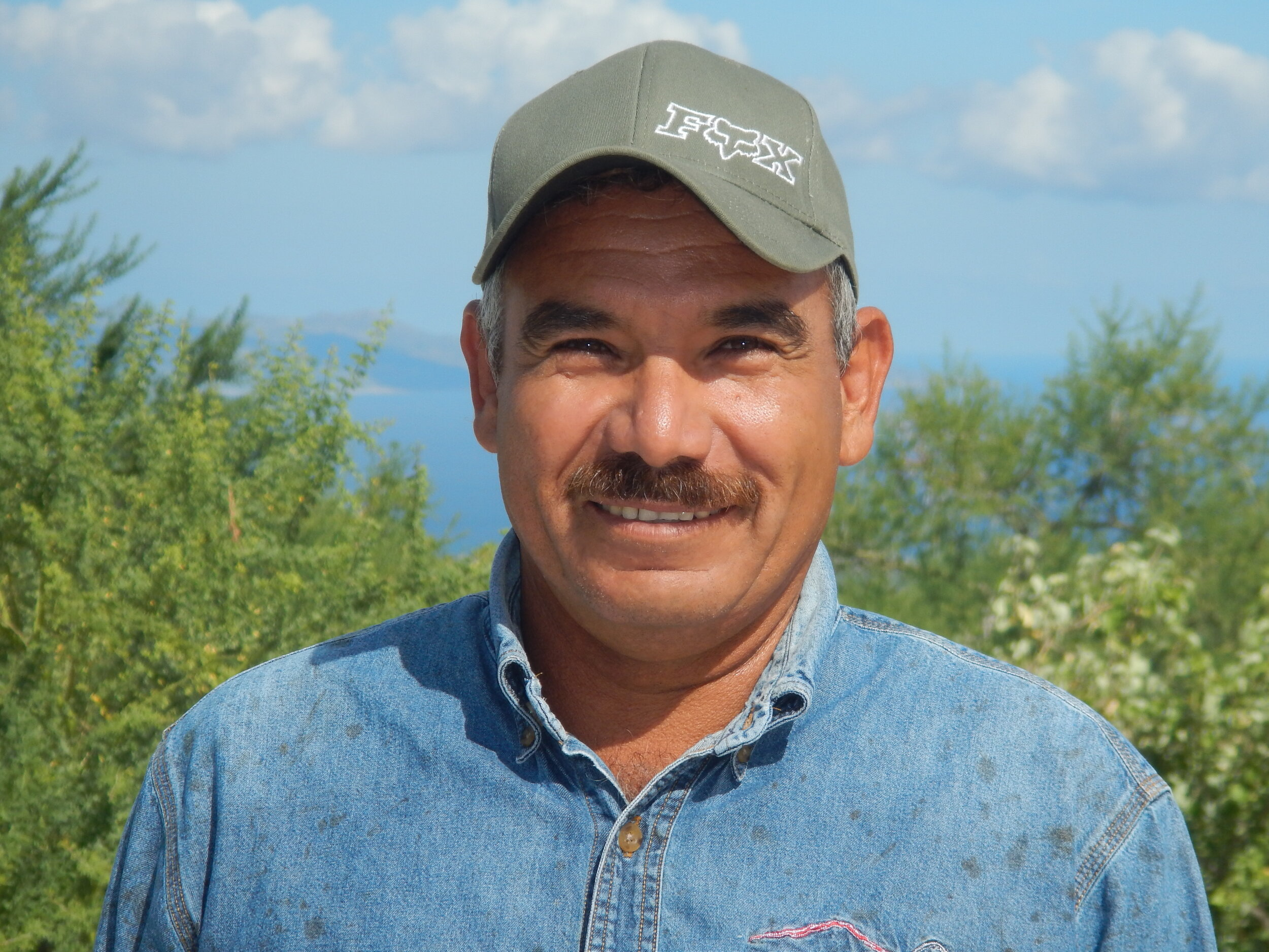 Octavio Rosas - Crew Supervisor   Octavio has ample experience that has made him one of the lead trail designers in charge of the trail development on the ranch. His leadership on the field is noticeable, supporting his team members into constricting the very best of the trails.