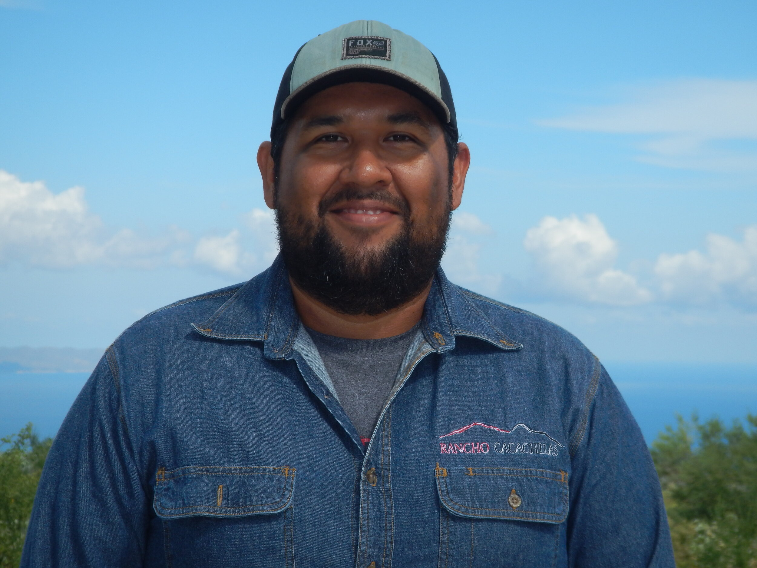 Oscar Aaron Cañedo - Crew Supervisor   Oscar is an enthusiastic trail designer on the trail development team. He also enjoys riding the trails that he and his team construct. With a degree in ecotourism, he has also became one of the lead tour guides on the ranch!