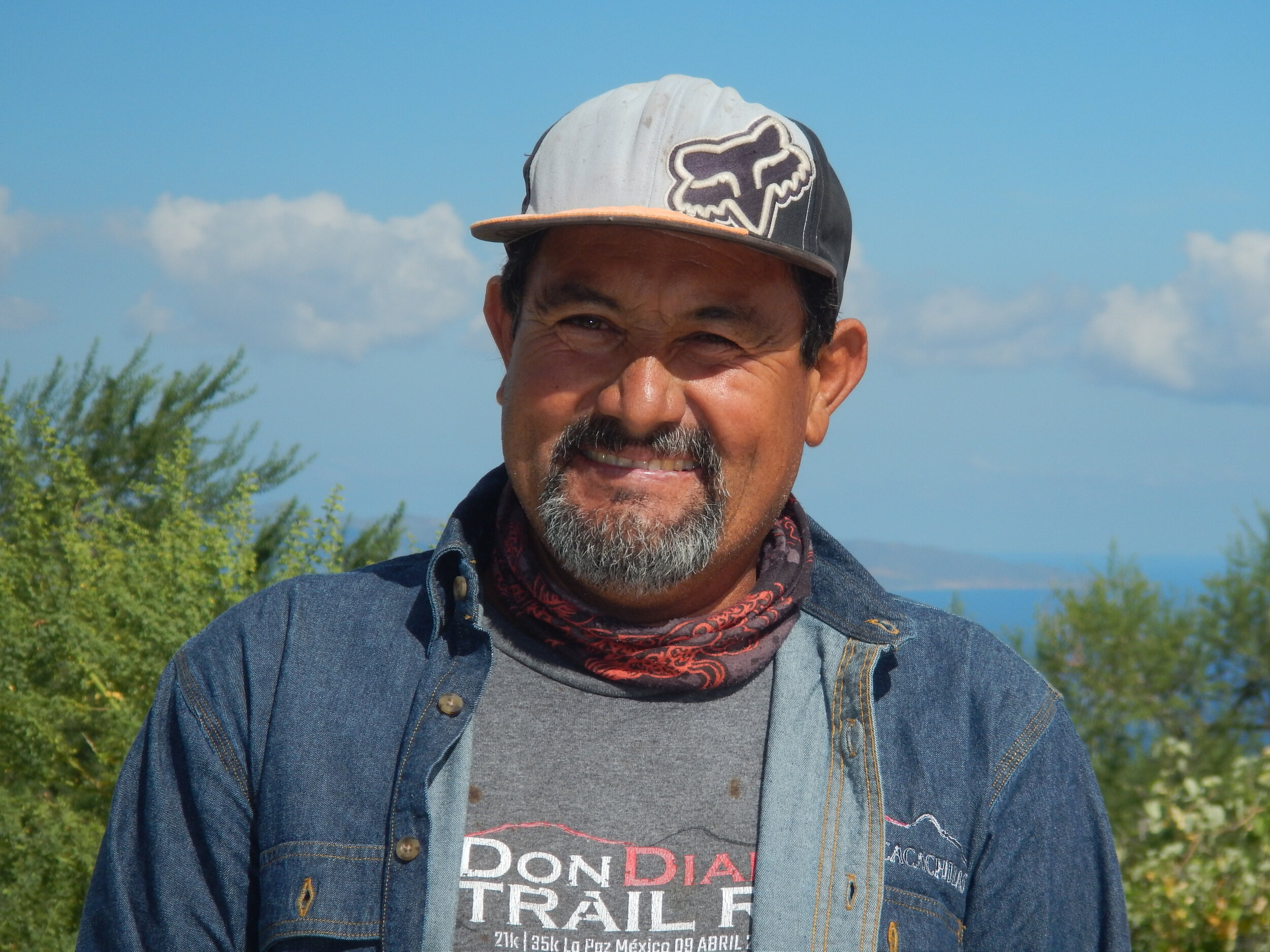 Gustavo Calderon   Gustavo is one of the most experienced members of the team. He is a natural leader, with a whole life of experience, and truly a hard worker.
