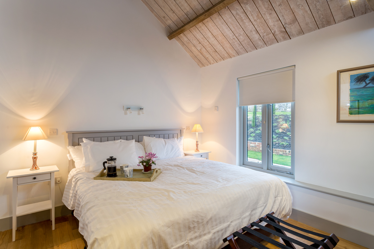 Copy of The Vineyard - Lordship's Barns - bedroom